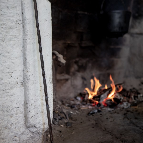 A fire iron, crafted by the Village blacksmith