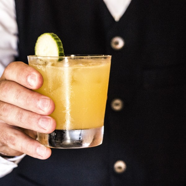 "The ""Pèlerin"" signature cocktail"